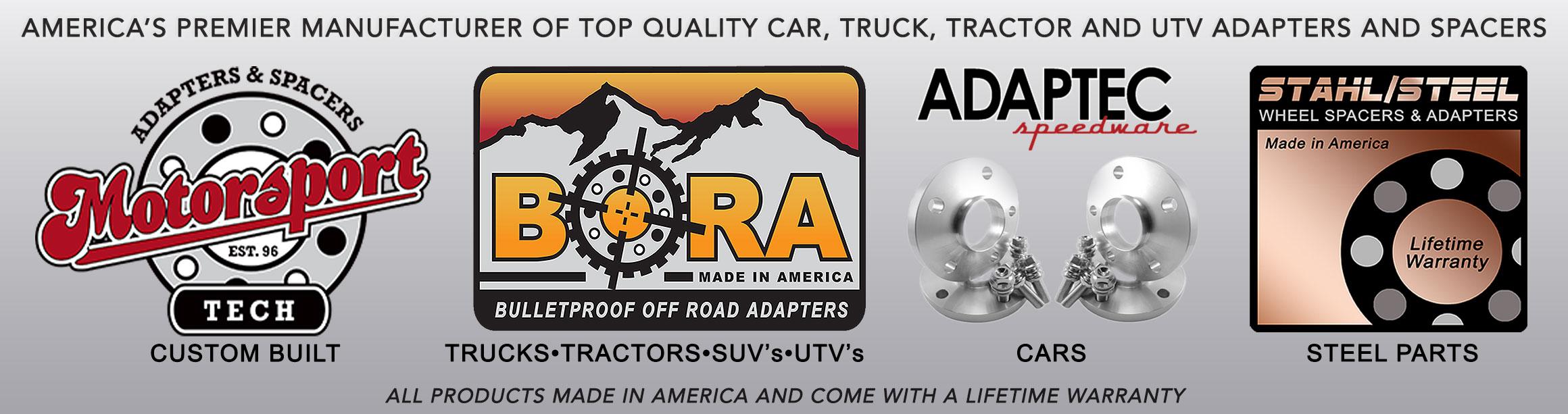 Custom Wheel Adapters, Wheel Spacers, Hub Rings for your car